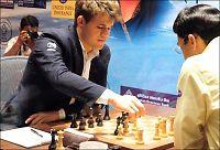 Carlsen vant etter Anand-brøler: - Heldigvis tabbet han seg ut