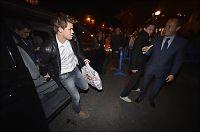 Her er Carlsen på Santiago Bernabeu