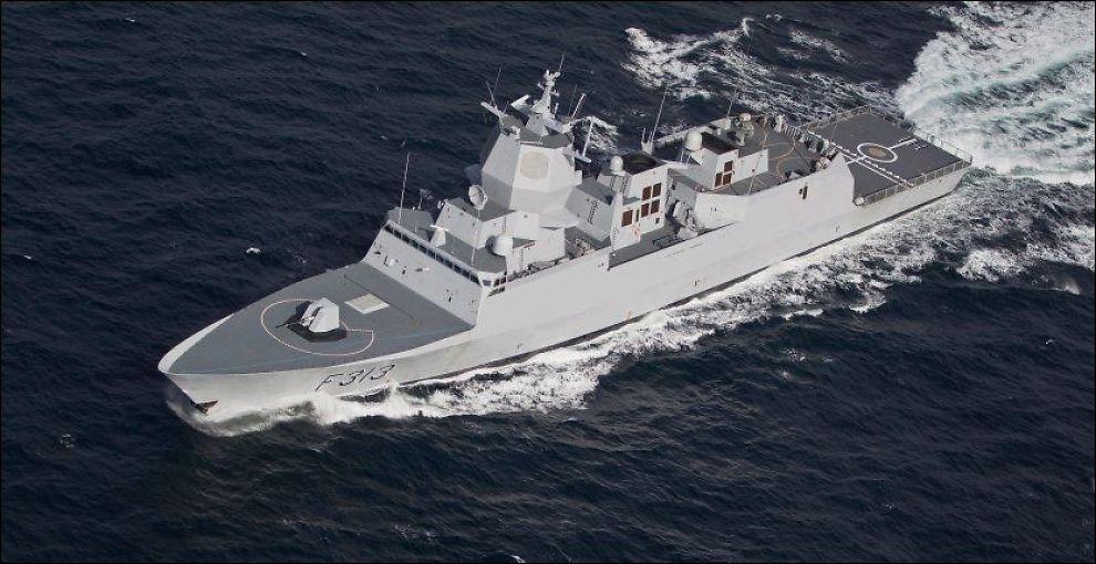 Norsk fregatt til Syria neste uke - Syria - VG