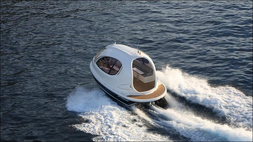 Mini Yacht Med Boblefasong B 229 T Vg