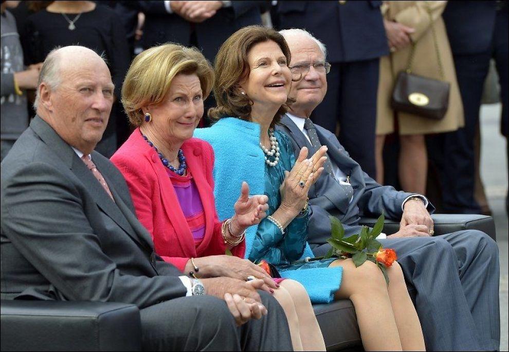 REPUBLIKK: Den største tenesta kong Harald kunne gjort oss når vi no skal feire grunnlovsåret 2014, er å seie at 200 år med monarki får halde, skriv Sveiunung Rotevatn. Foto: TERJE MORTENSEN.