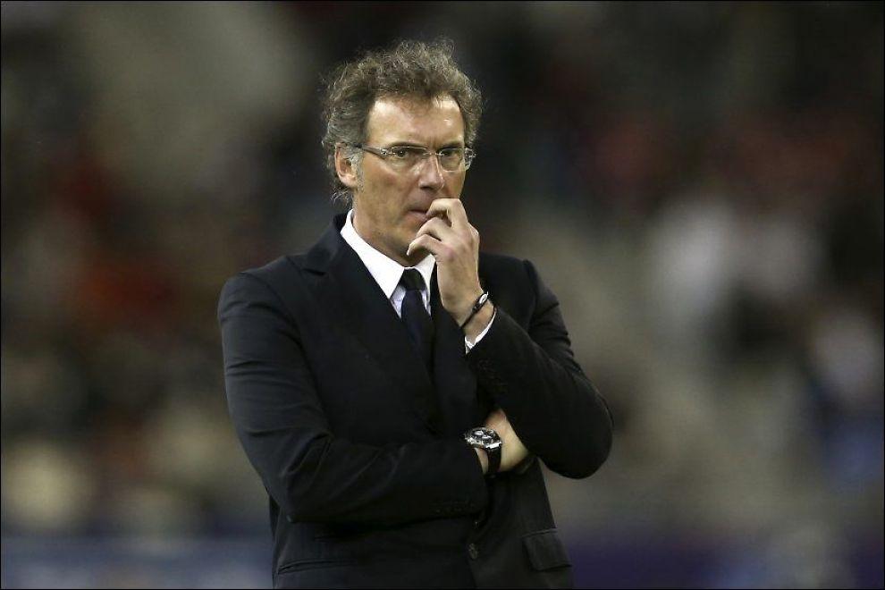 PSG: Trener Laurent Blanc og PSG satser på ligacupen. I kveld spilles kvartfinale i Bordeaux, og det er ingen retur. Foto: Reuters