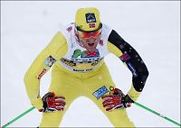 Knekt Pettersen ba om klem etter sprintfall