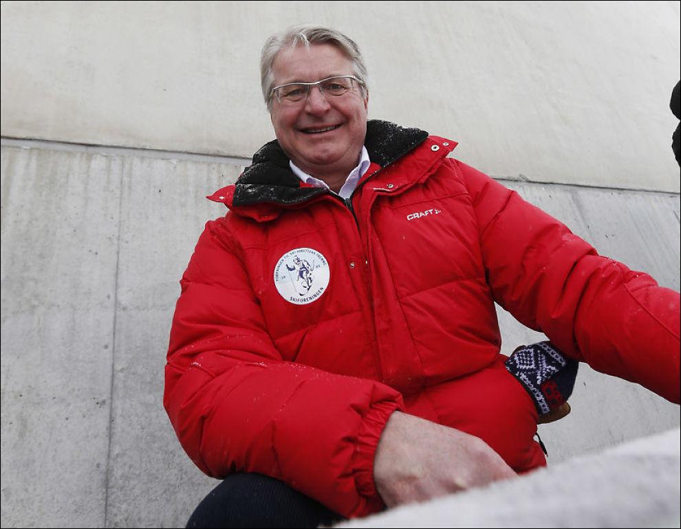 OL-FORKJEMPER: Oslo-ordfører Fabian Stang kjemper for å få OL til hjembyen, men vil ikke la sine ansatte se på årets leker. Foto: NTB SCANPIX