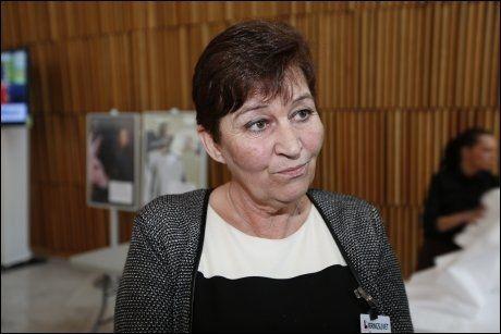 FIRKANTET: LO-leder Gerd Kristiansen er ikke imponert over det hun mener er manglende fleksibilitet hos ordfører Fabian Stang. Foto: JØRGEN BRAASTAD