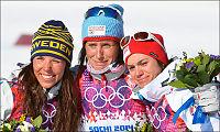 Bjørgen gråt med lagvenninnene etter OL-gullet