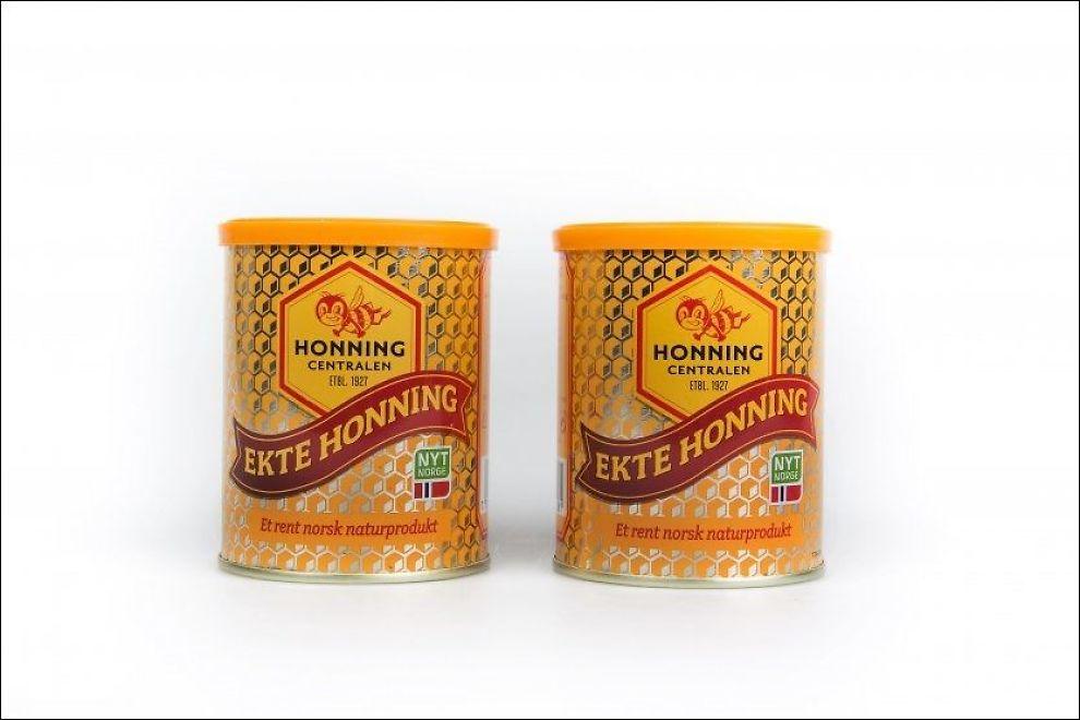 Emballasje honning