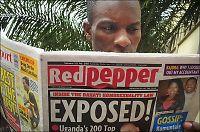 Ugandisk tabloidavis navngir 200 homoseksuelle