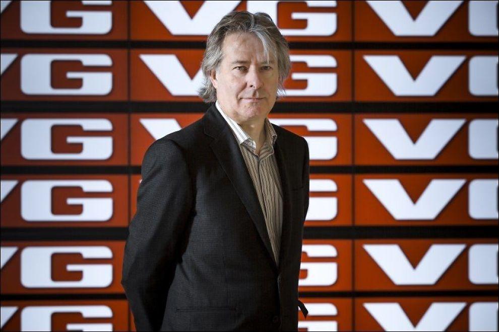 Ansvarlig redaktør og administrerende direktør i VG, Torry Pedersen. FOTO: KRISTER SØRBØ/VG