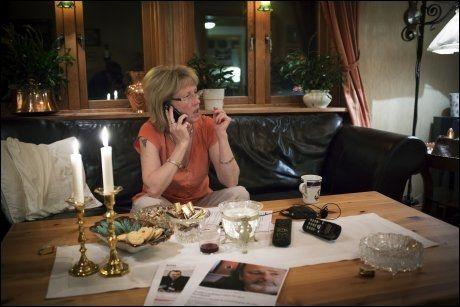 KJENTE CAPPELEN: I et par uker på 90-tallet bodde storsmugleren Gjermund Cappelen hjemme hos Cecilie Blegeberg og Eirik Jensen på Nesodden. I går møtte hun VG i sitt hjem utenfor Uddevalla. Foto: KYRRE LIEN