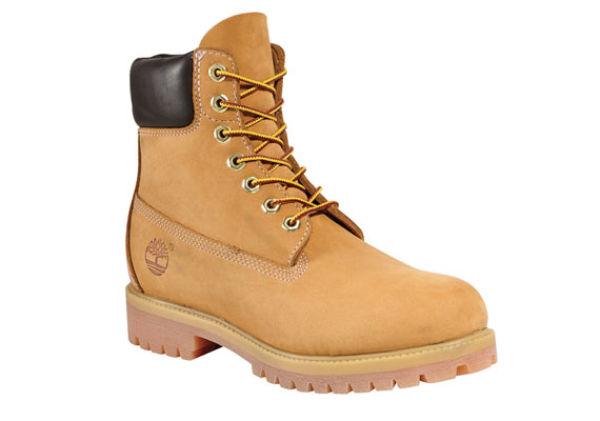 FOR KALDE DAGER: Timberlands «yellow boot» hos Timberland.no, 1699 kr. Foto: Produsenten