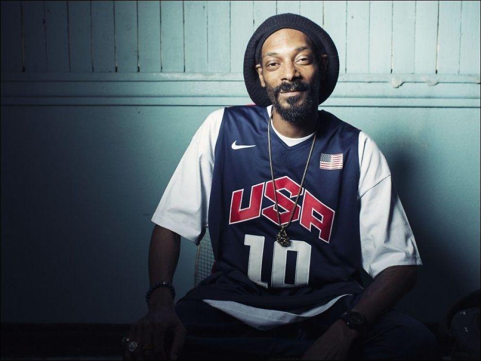 LOVLIG TIL NORGE IGJEN: Snoop Dogg kommer tilbake til Norge og Oslo Spektrum den 3. august, bare få dager etter at utvisningsvedtaket blr opphevet. I juni 2012 ble han tatt i tollen med marihuana på kroppen før sin opptreden på Hovefestivalen. Foto: Ap