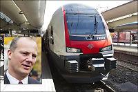 Samferdselsministeren åpner for private togselskaper