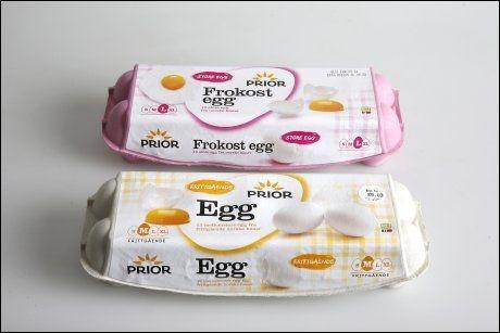Frittgående høner befruktet egg