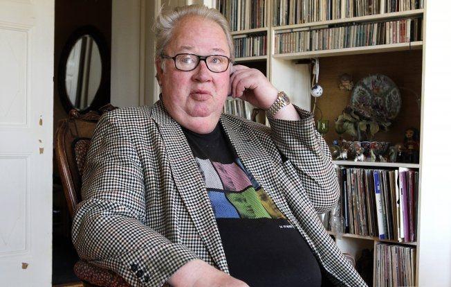 BLANT FAVORITTENE: Programleder, journalist og komiker Knut Borge er blant gjestene på topplisten til Jon Almaas. Foto: TROND SOLBERG / VG