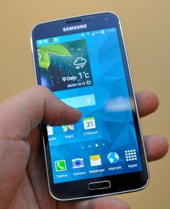Samsung galaxy 5 slår seg av