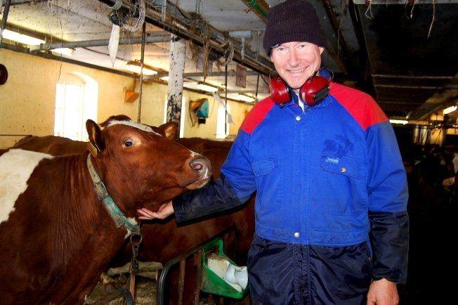 SELGER: Industrimannen, investoren og bonden Henning Horn (64) ønsker å selge Svalbard-eiendommen, som han eier sammen med sine to søstre og sin avdøde brors arvinger. Foto: Per Snekvik, Avisa Sør-Trøndelag
