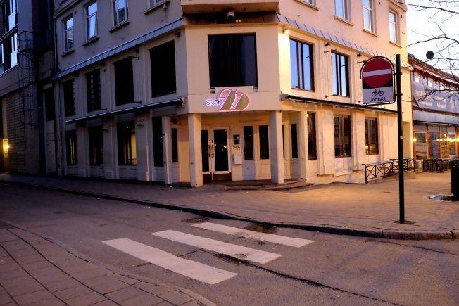 VAR HER: Studio 26 i Trondheim er et av tre utesteder i Trondheim Northug ble observert på natt til søndag. Foto: GEIR OTTO JOHANSEN/VG