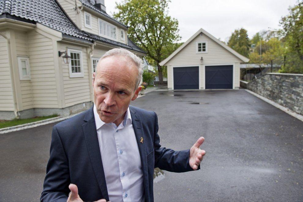 Bygge garasje inntil bolighus