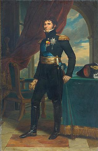 KRAV OM NORGE: Kronprins Karl Johan i 1811. Foto: Maleri av François Gérard