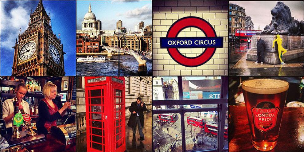 LONDON: Populær og dyr by å besøke.