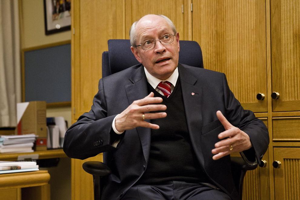 KRITISK: Aps kongepolitiske talsmann Martin Kolberg er svært kritisk til at kronprinsfamilien vil sende barna på privatskole.