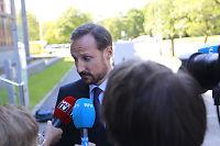 Kronprins Haakon til VG: - Forstår at folk har meninger