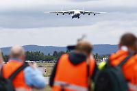 Se monsterflyets landing på Oslo Lufthavn!