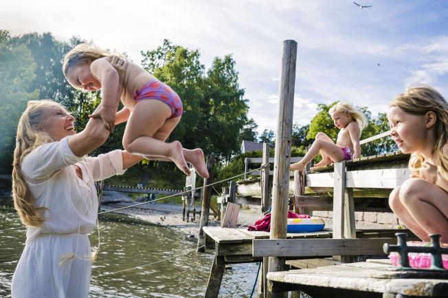 norske babes utflod hos barn