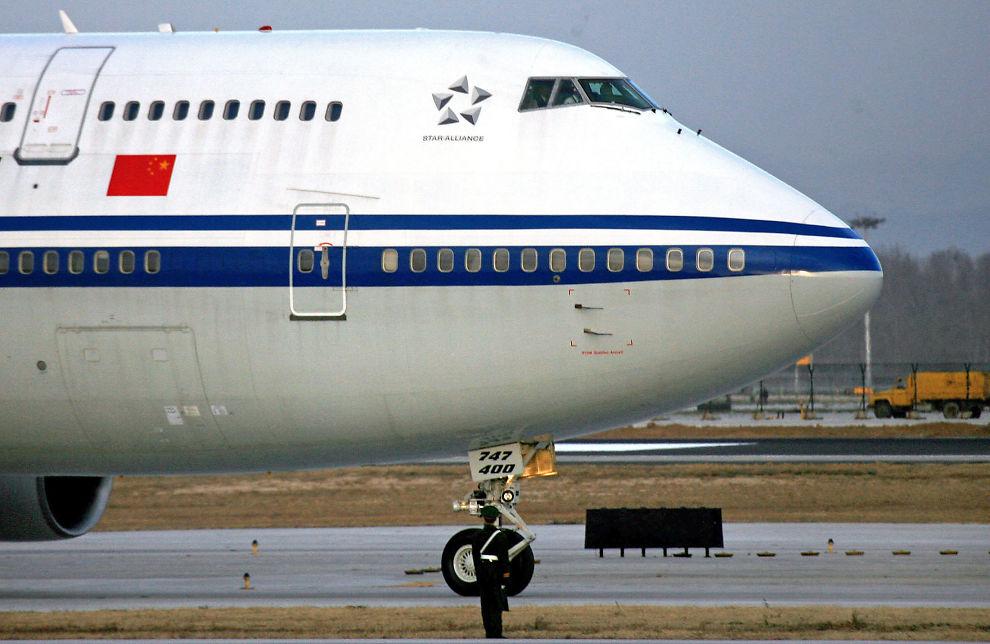<p>JUMBOJET: Det er med to slike kombinerte cargo/combi-fly av typen Boeing 747-400, innleid fra Air China, at flyselskapet Viking International skal starte opp ruteflyvninger mellom Oslo, Miami og Bangkok. Flyene får egne seksjoner om bord for barnefamilier og seniorer som ønsker ro.<br/></p>