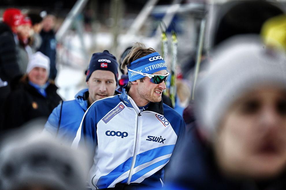 <p>TETT SAMARBEID: Petter Northug og manageren Are Sørum Langås har hatt et tett samarbeid etter at Northug brøt med landslaget. Northug skal ønske manageren med videre. Her fra sesongstarten på Beitostølen.<br/></p>
