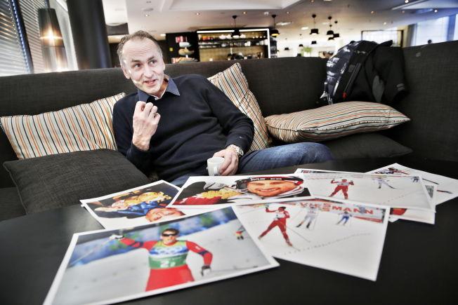 <p>TETTEST PÅ: Pappa John Northug snakker her om hvordan det er å være far til, Petter Northug, en av Norges største idrettstjerner i et møte med VG for litt over ett år siden.</p>