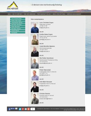 <p>25. juni: Nye Høyder-hjemmesiden</p>