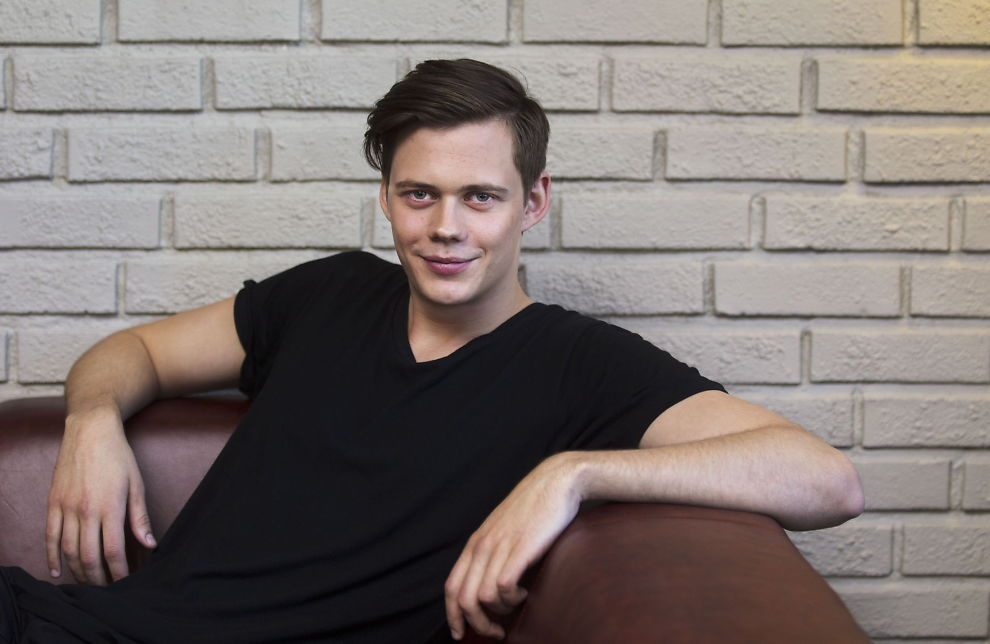 <p> ON OWN BEN: Bill Skarsgard tries to keep a clear distinction between family and career, despite the name. <br/> </ p>