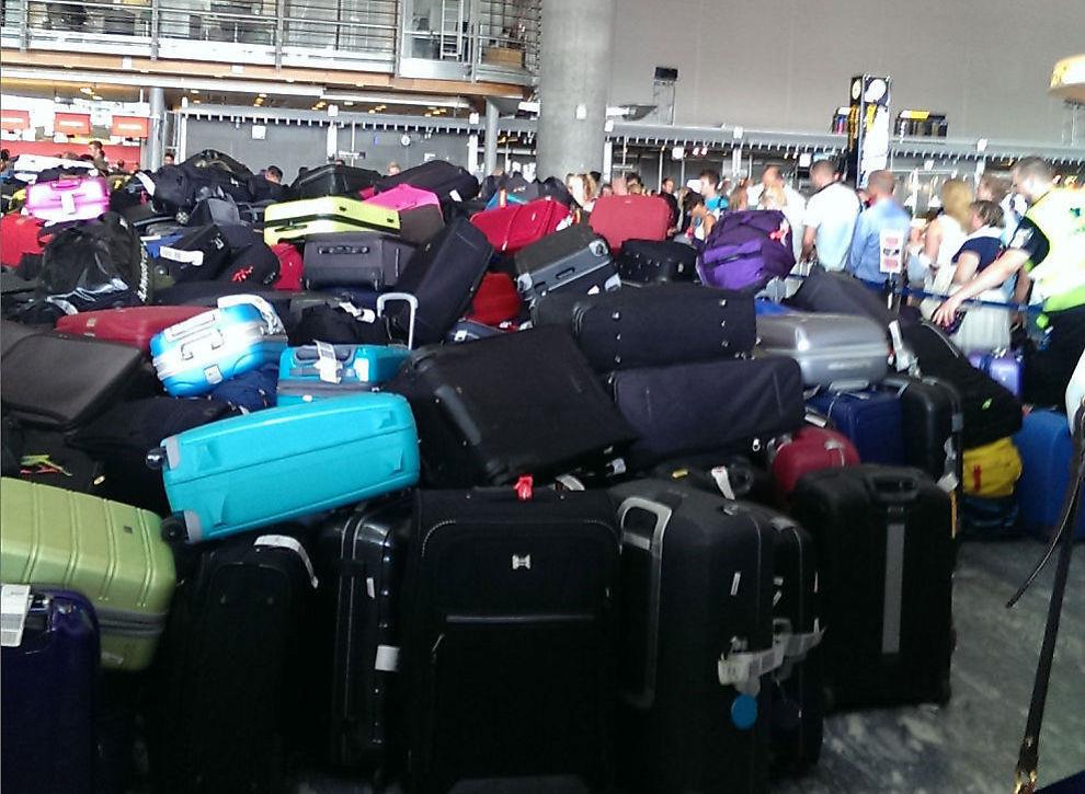 Europeiske forsinket bagasje hjemreise