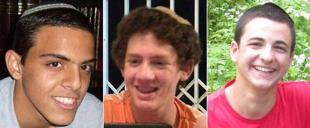 <p>DREPT: De tre israelske tenåringene Eyal Yifrach (19), Naftali Frenkel (16) og Gilad Shaar (16) ble bortført på vestbredden i midten av juni, og senere funnet drept.<br/></p>