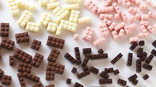 Sjekk ut disse legoklossene av sjokolade