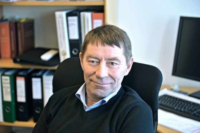 <p>VEDTAR BOTEN: Porsangerordfører Knut Roger Hanssen (H).<br/></p>