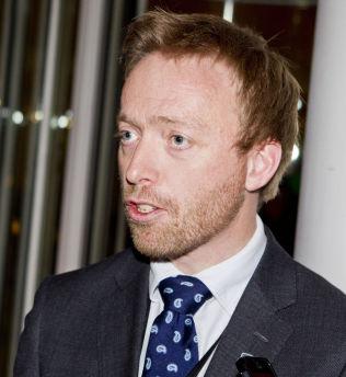 <p>ÅPNER SKINNENE: Statssekretær John-Ragnar Aarset (H) i Samferdselsdepartementet.<br/></p>