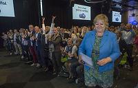 Solberg peker ut vinnersakene for neste års valg