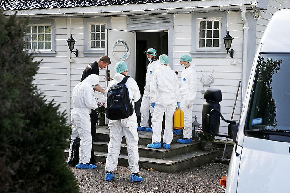 <p>ÅSTED: I denne eneboligen på Nordstrand knivstakk den siktede 17-åringen sin egen bror (19) og far (52) tidlig om morgenen fredag 19. september.<br/></p>