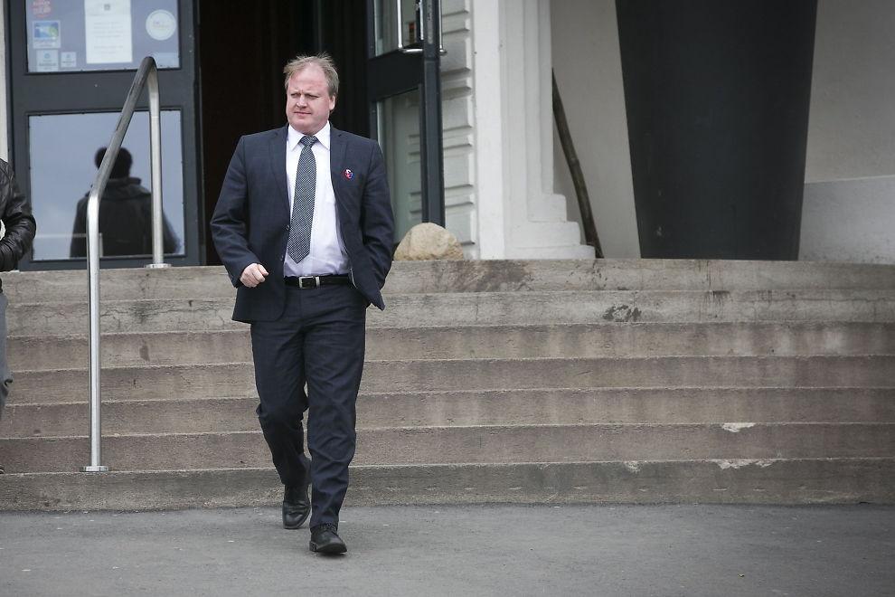 <p>Fotballpresident Yngve Hallén. Her ved Ekebergrestauranten.<br/></p>