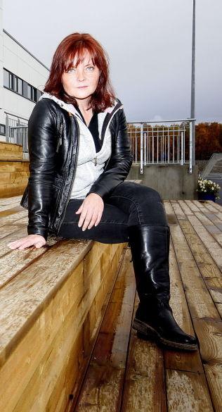 BREDDEFOTBALLSJEF: Gunn Heidi Henriksen.