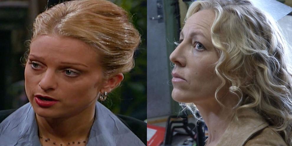 <p>NINNI DA OG NÅ: Henriette Lien (t.v) og Sølje Bergman, begge i rollen som Ninni Anker-Hansen<br/></p>
