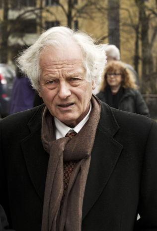 <p>SVARER I HANDKE-DEBATTEN: William Nygaard, styreleder i PEN. FOTO: FRODE HANSEN/VG</p>