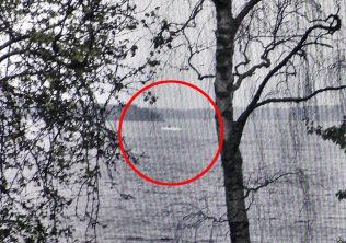 <p>SLO ALARM: Dette bildet er det som utløste ubåtjakten i den svenske skjærgården utenfor Stockholm.<br/></p>
