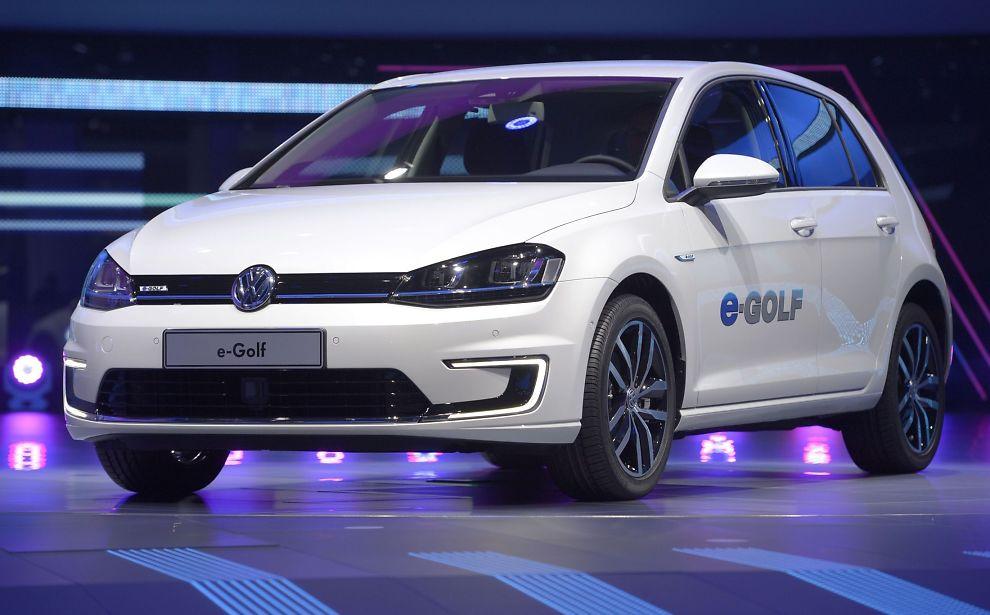 Volkswagen golf elektrisk