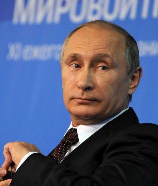 <p>MISTER GASSMAKT: Russlands president Vladimir Putin.<br/></p><p><br/></p>