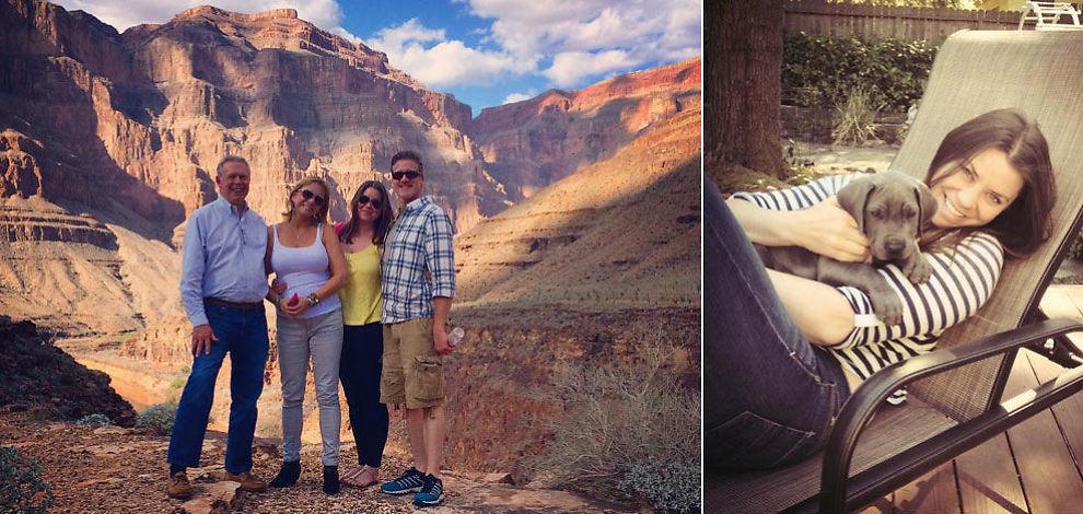 <p>DRØM I OPPFYLLELSE: Brittany Maynard drømte om å oppleve spektakulære Grand Canyon før hun dør. I forrige uke gikk drømmen i oppfyllelse sammen med ektemannen Dan, moren Debbie og stefaren.<br/></p>