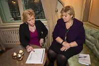 Formuesskatten: Finans-Siv uenig med Erna og Frp-Siv